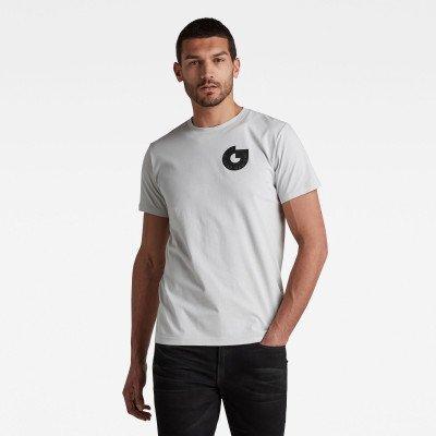 G-Star RAW Licence Graphic T-Shirt - Grijs - Heren