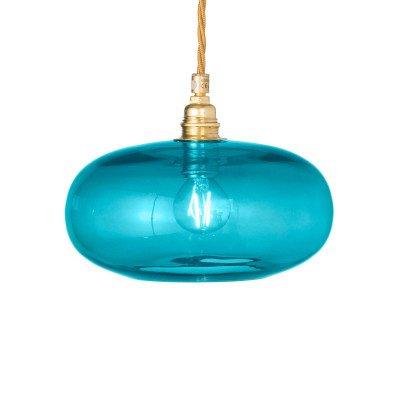 Ebb en Flow EBB & FLOW Horizon hanglamp zeeblauw Ø 21cm