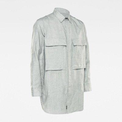G-Star RAW GSRR Regular Long Shirt - Grijs - Heren
