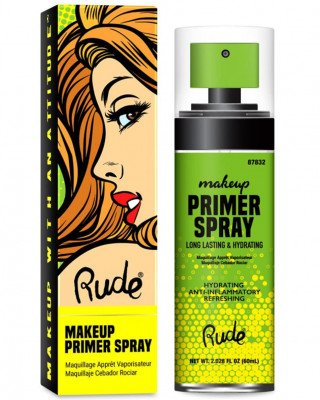 Rude Cosmetics Rude Cosmetics Make Up Primer Spray Rude Cosmetics - Make Up Primer Spray MAKE UP PRIMER SPRAY