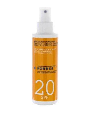 Korres Korres - Sun Spray Yoghurt SPF20 - 150 ml