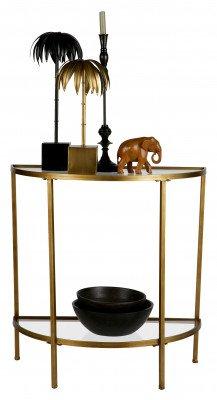 BePureHome BePureHome Side-table 'Goddess', kleur Antique Brass