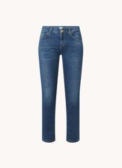 Liu Jo Liu Jo Monroe mid waist skinny fit cropped jeans met stretch