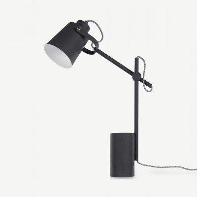 MADE.COM Seppo tafellamp, zwart