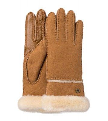UGG UGG Slim Tech Cognac Dames Handschoenen