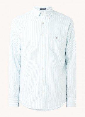 Gant Gant Regular fit overhemd met streepprint