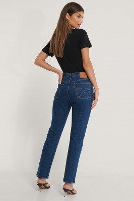 Levi's 501 Crop Jeans - Blue