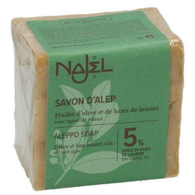 DilleenKamille Aleppo-zeep, 95% olijfolie&5% laurierbessenolie, 200 gram