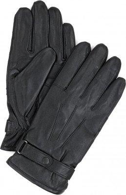 Barbour Barbour Handschoenen Glad Leer Zwart