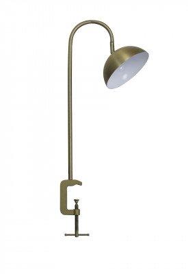 vtwonen vtwonen Tafellamp 'Jupiter' met klem LED, antiek brons