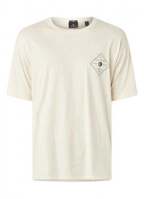 Scotch & Soda T-shirt van biologisch katoen met backprint