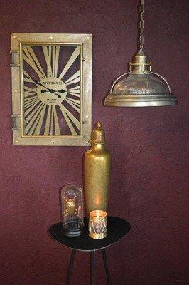 PTMD PTMD Klok 'Devan', Metaal, 57 x 78 x 12cm, kleur Goud