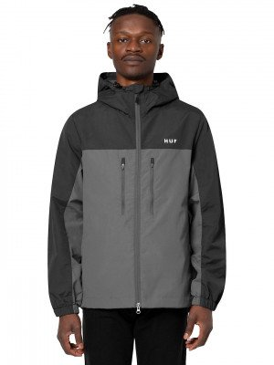 HUF HUF Standard Shell 3 Jacket zwart
