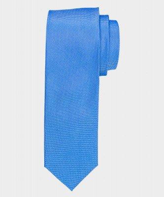Michaelis Michaelis heren zijden stropdas blauw