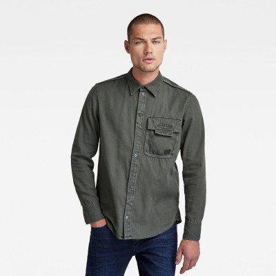 G-Star RAW Bound Pocket Slim Shirt - Grijs - Heren