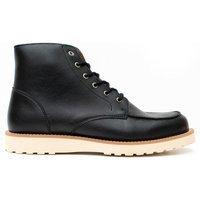 Will's Vegan Shoes Will's Vegan Shoes unisex vegan Laarzen Low Rig Zwart Zwart 42 PU
