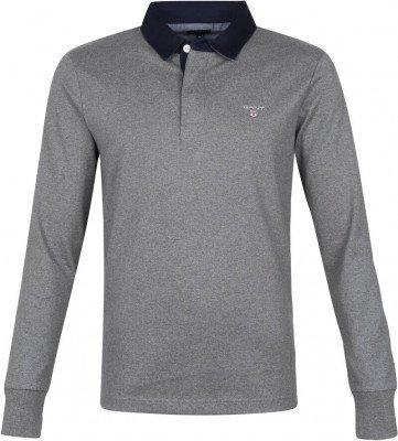 Gant Gant Rugger Poloshirt LS Grijs