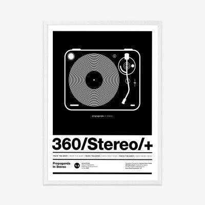 MADE.COM Stereo Poster