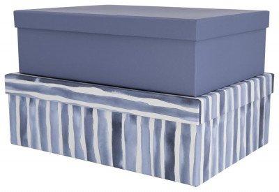 HEMA HEMA Dozen Karton Aquarel Blauw - 2 Stuks