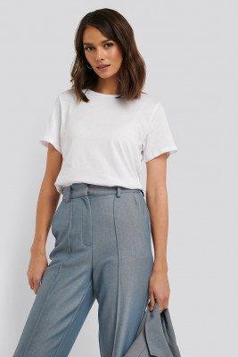 NA-KD Basic NA-KD Basic Basic T-Shirt - White