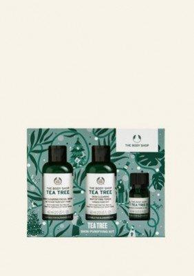 The Body Shop NL Tea Tree Skin Purifying Kit 1 Stuk