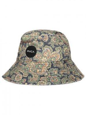 RVCA RVCA Low Down Cord Bucket Hat blauw