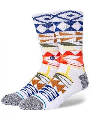Stance Stance Warrior Print Socks wit