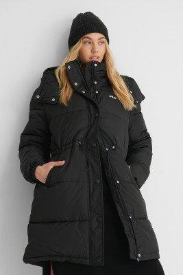 Fila FILA Oversized Lang Pufferjack - Black