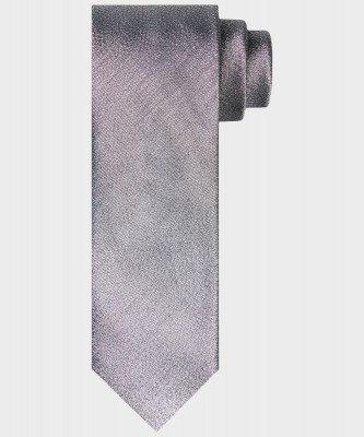 Michaelis Michaelis heren glitter stropdas zilver