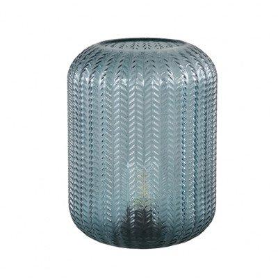 Firawonen.nl PTMD larson turquoise glazen led tafel lamp motief