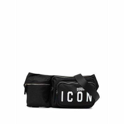 Dsquared2 Icon-print multi-pocket belt bag