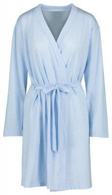 HEMA Damesbadjas Jersey Katoen Lichtblauw (lichtblauw)