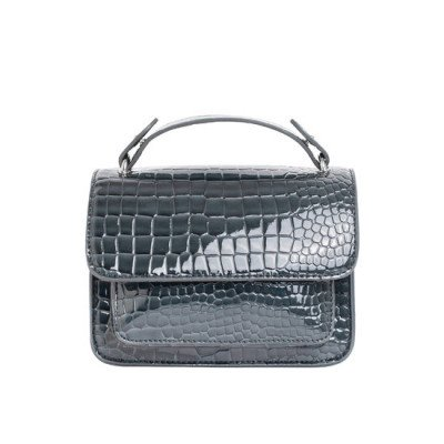 Veganbags Hvisk Renei Croco Grey Dark