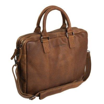 Chesterfield Chesterfield Bags Leren Laptoptas 15 inch Floris Cognac