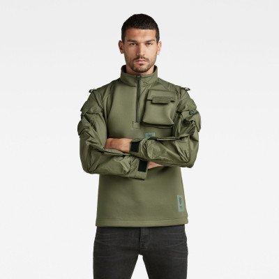 G-Star RAW Neopreen Sweater - Groen - Heren