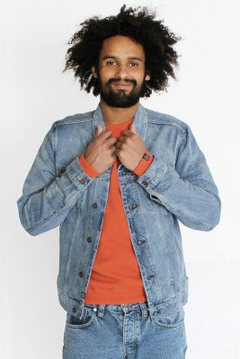 Kuyichi Brian Sweater Kuyichi Orange - Red - L