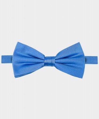 Michaelis Michaelis heren zijden strik blauw