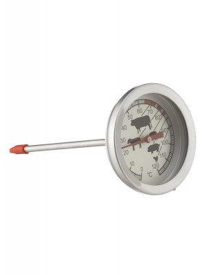 HEMA Vleesthermometer - 11.5 Cm (zilvergrijs)