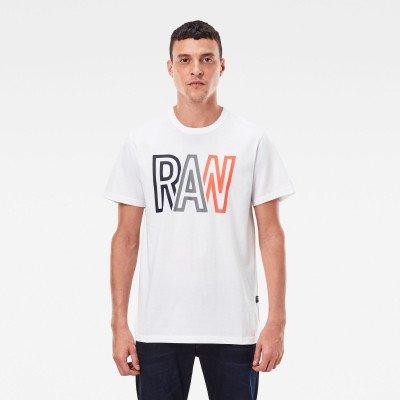 G-Star RAW Raw T-Shirt - Wit - Heren