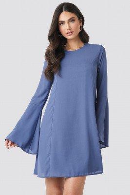 Trendyol Handles Flywheel Mini Dress - Blue