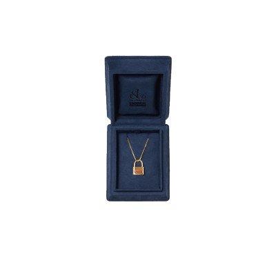 Supreme Supreme Jacob & Co. 14K Gold Lock Pendant (FW20)