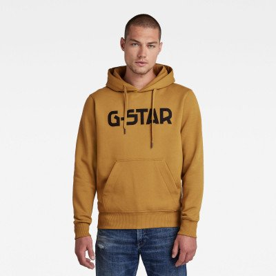 G-Star RAW G-Star Hoodie - Groen - Heren