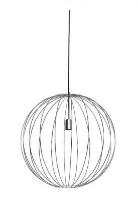 Light en Living Light & Living Hanglamp 'Suden' 60cm, kleur Chroom