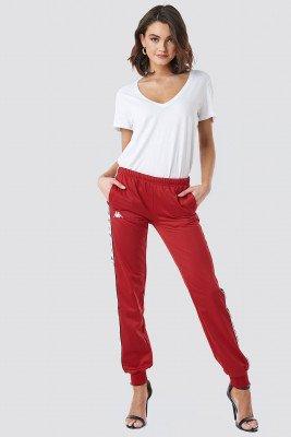 Kappa Kappa Wrastoria Banda Pants - Red
