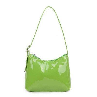 Daniel Silfen Daniel Silfen Handbag Ulla Patent Green
