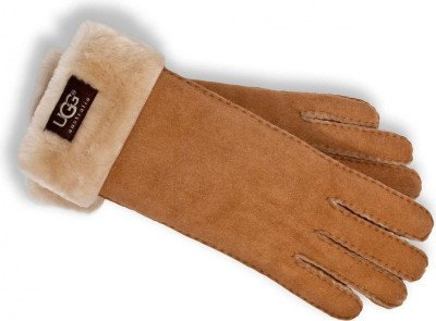UGG UGG Turn Cuff Cognac Dames Handschoenen