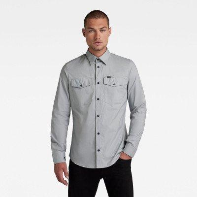 G-Star RAW Marine Slim Shirt - Grijs - Heren