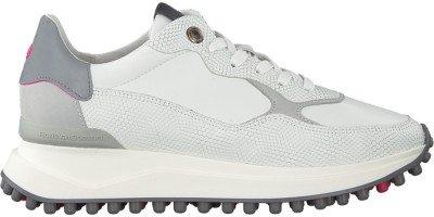 Floris van Bommel Witte Floris Van Bommel Lage Sneakers 85307