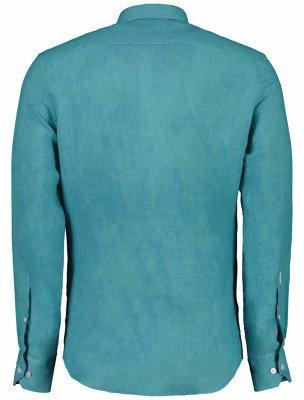 Cavallaro Napoli Cavallaro Napoli Heren Overhemd - Leo Overhemd - Turkoois