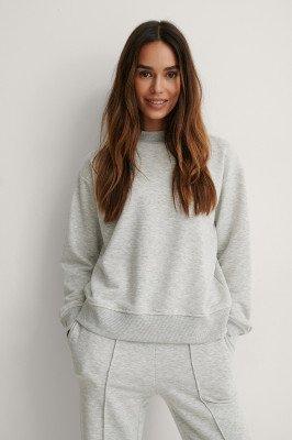 NA-KD Reborn NA-KD Reborn Organisch Sweater - Grey